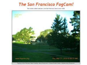 San Francisco Web Cam Anchor Texts