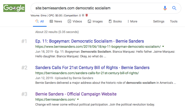 democratic socialism seo
