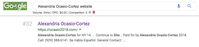 aoc website ranking