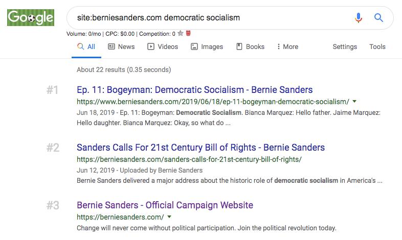 democratic socialism seo
