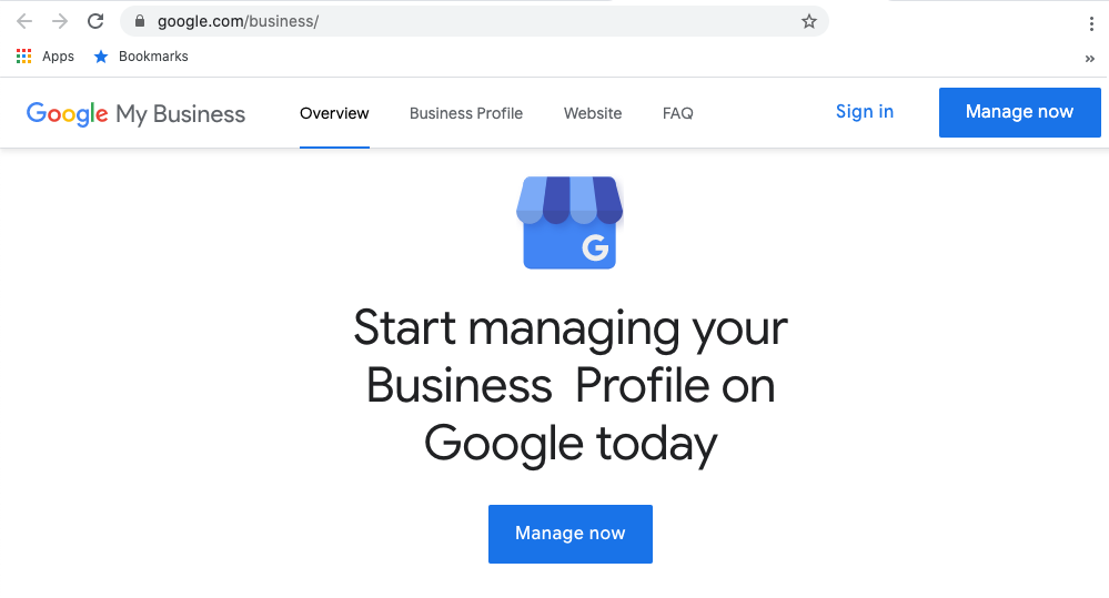 Sign in to add user to Google My Business