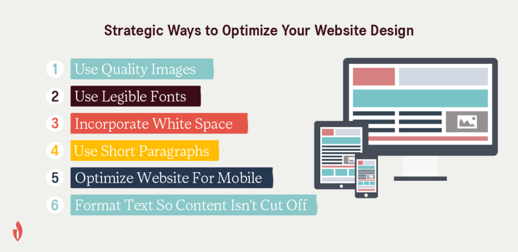 how to optimize web design for better engagement