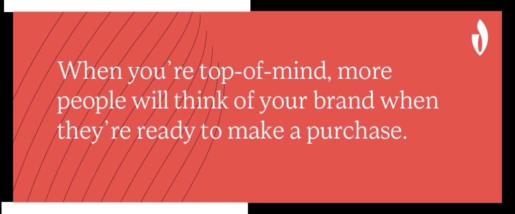 website engagement increases brand awareness